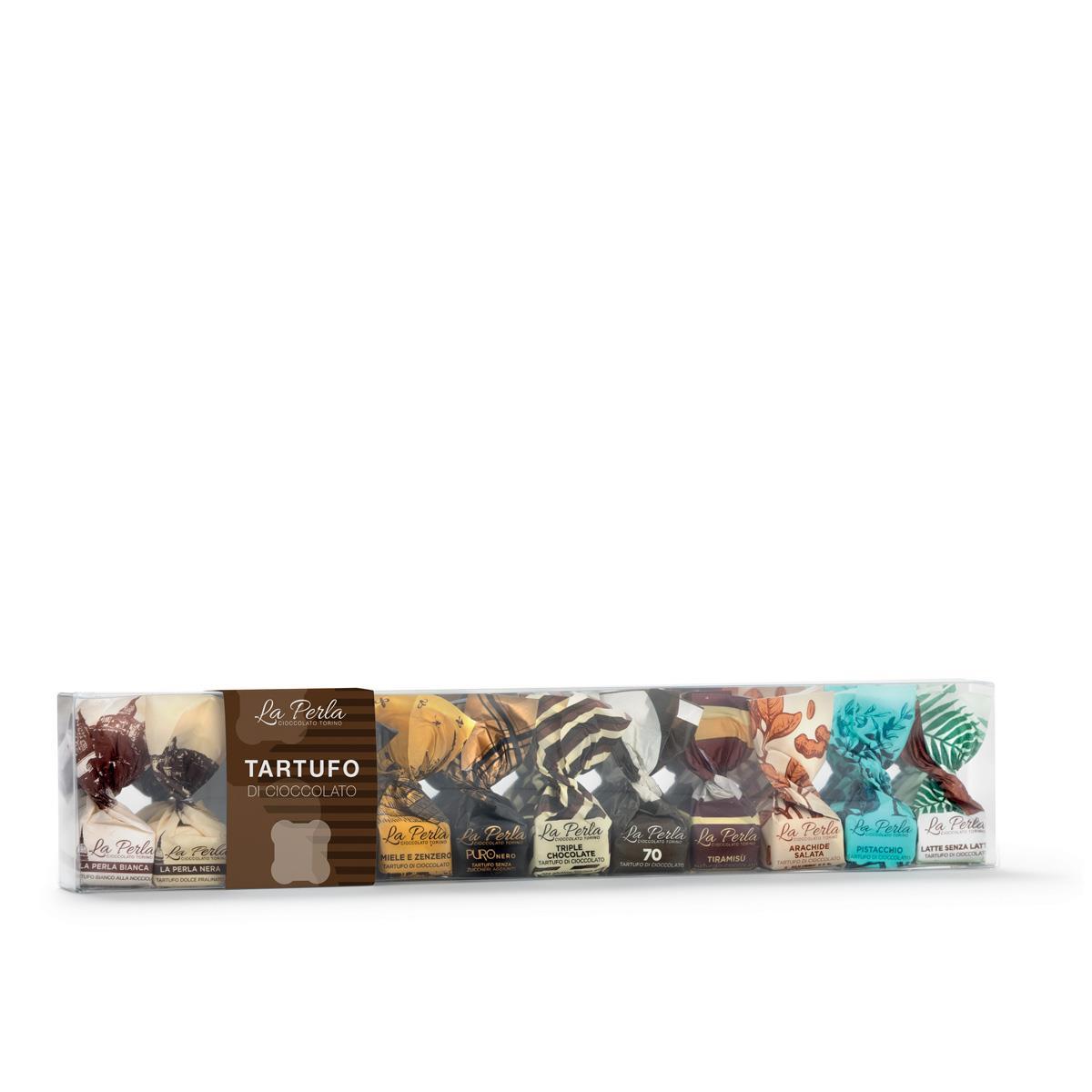La Perla Tartufo di Cioccolato 12er Mix Box 170 g