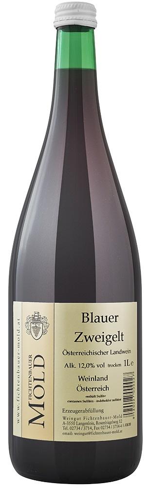 2019 Blauer Zweigelt 1,0 l Landwein