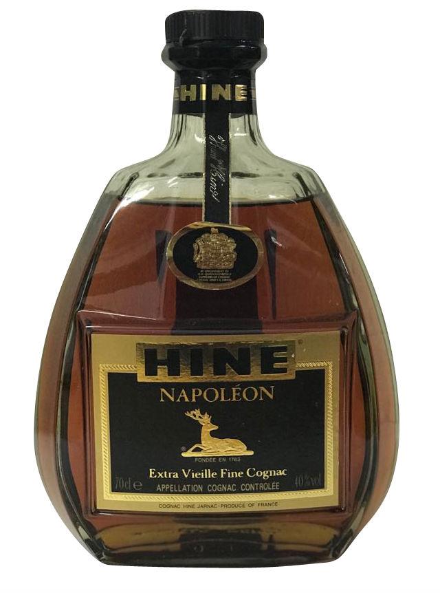 Hine Napoleon Extra Vieille Fine Cognac - 1980er