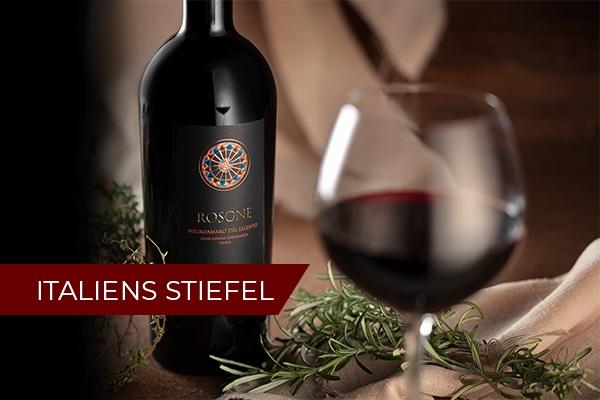 Italiens Stiefel Weinseminar   März 2022