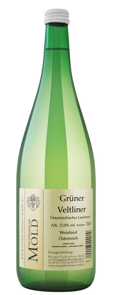 2019 Grüner Veltliner 1,0 l Landwein