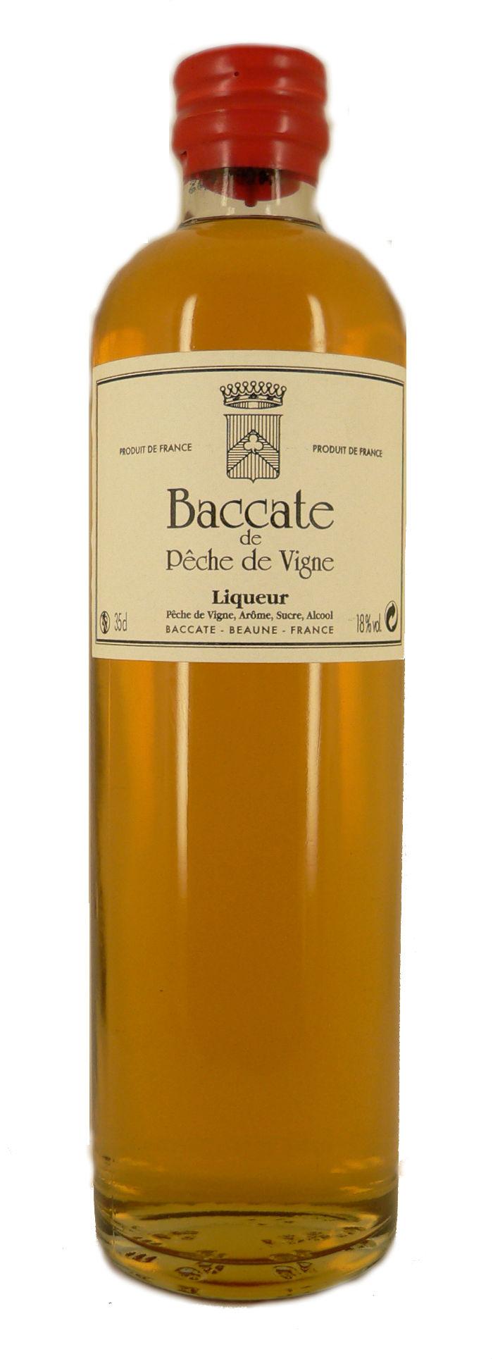 Baccate Peche de Vigne - Pfirsichlikör