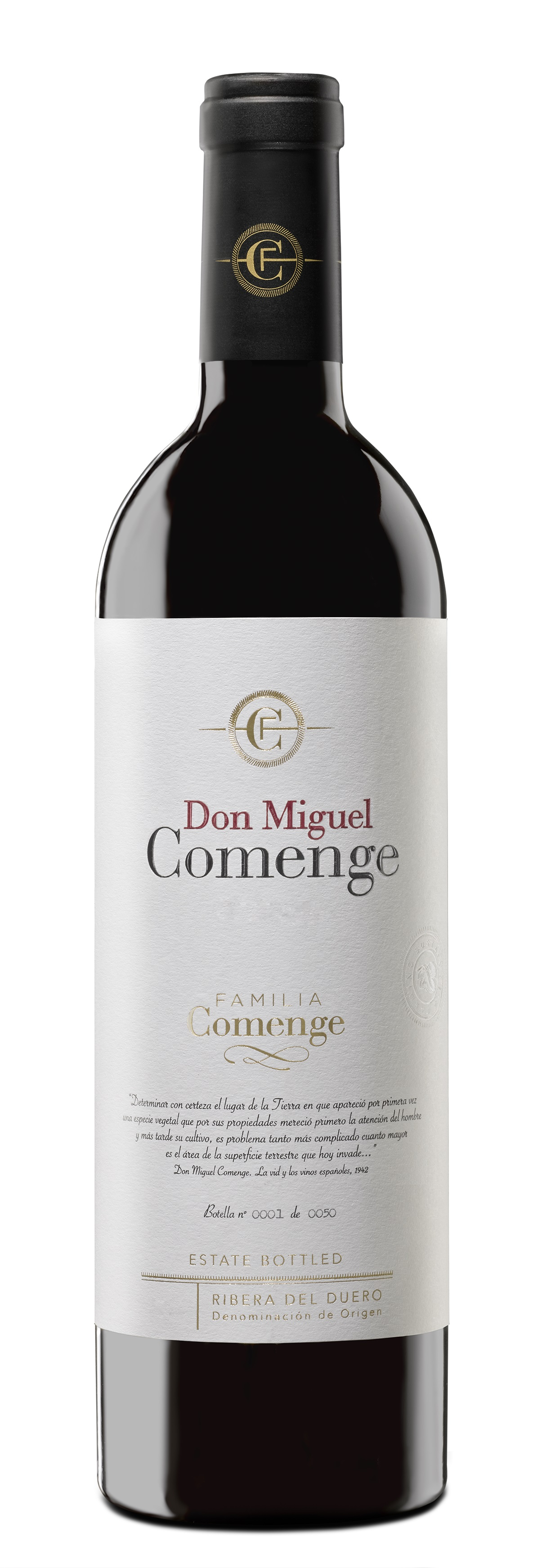 2016 Don Miguel Comenge Reserva DO