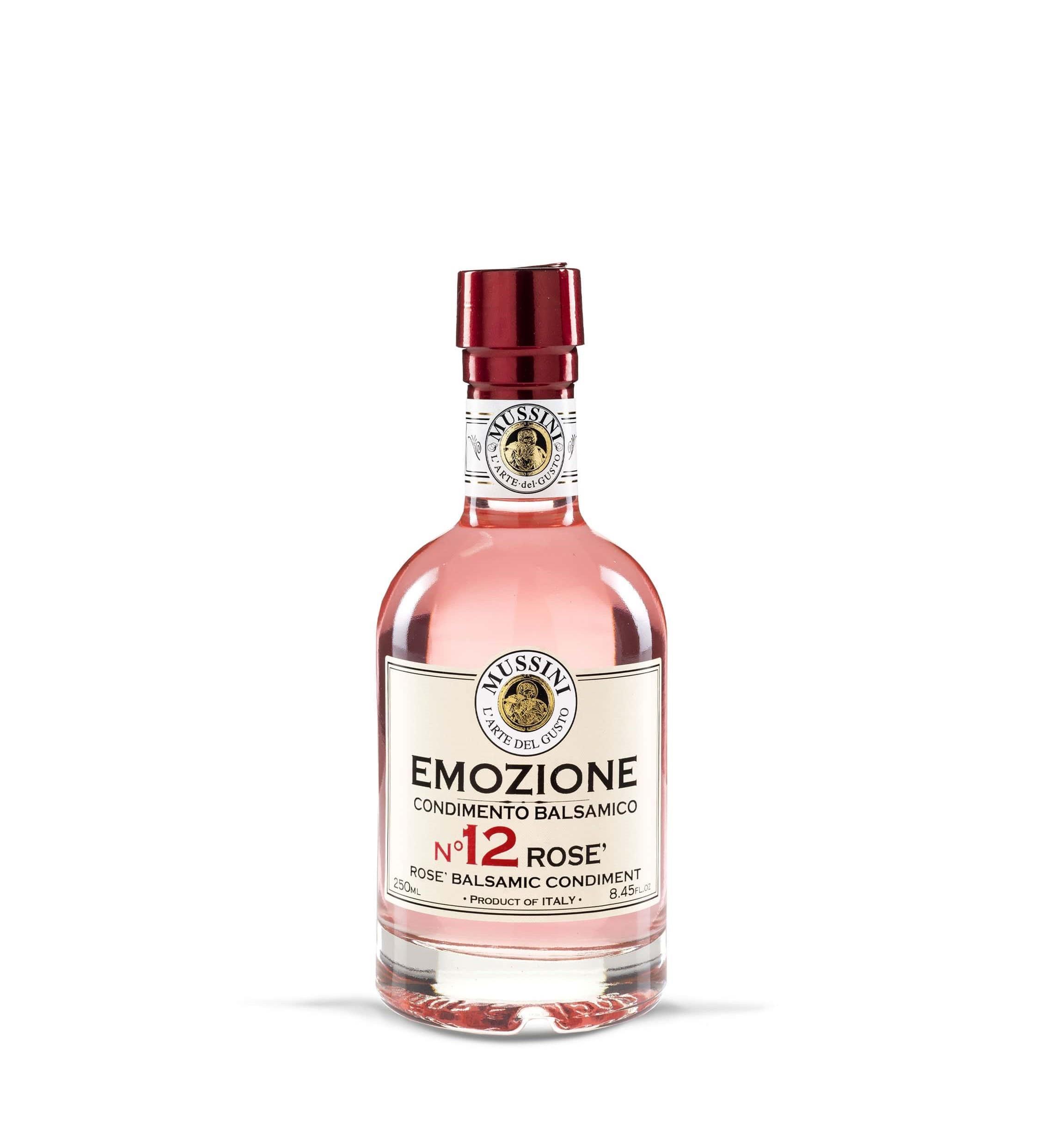 """Condimento Balsamico Rosé """"EMOZIONE No.12"""""""