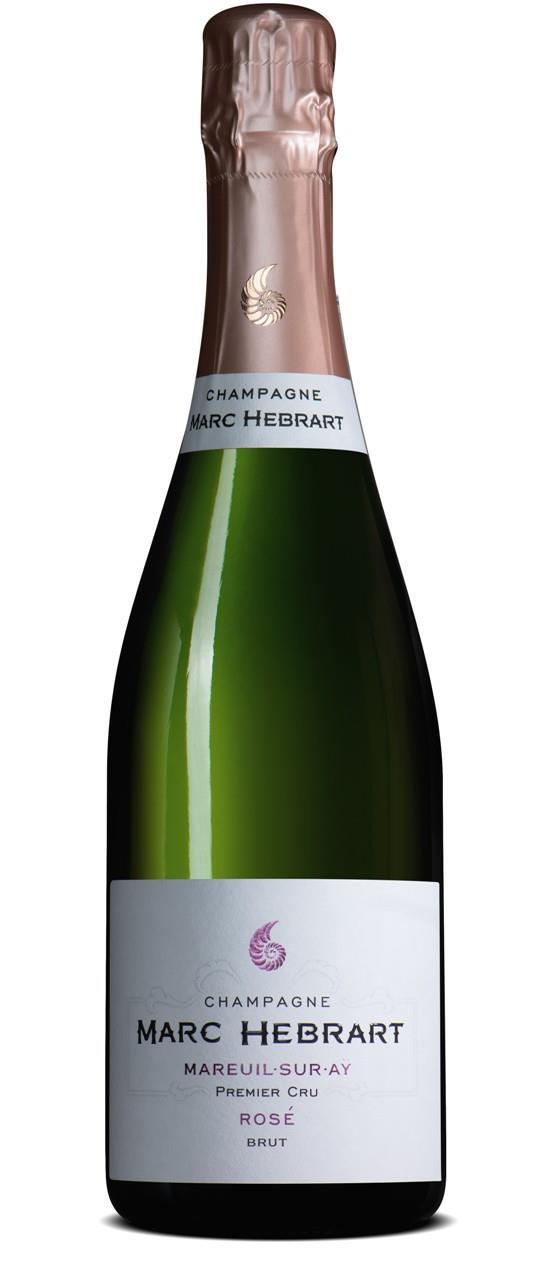 Champagner Hebrart Rosé Brut 1er Cru