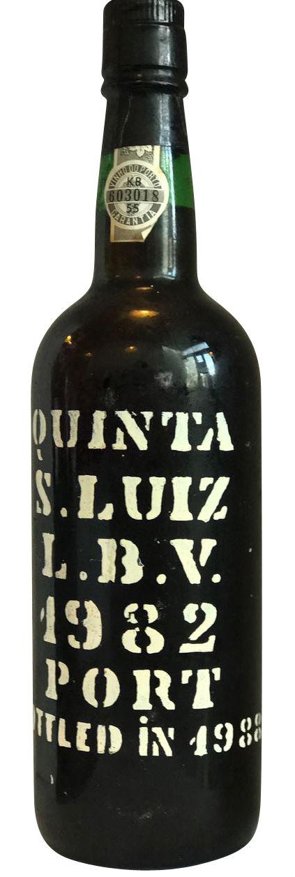 1982 Late Bottled Vintage Port Quinta S. Luiz