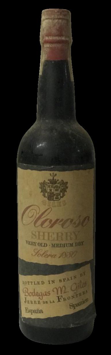 Sherry Oloroso Solera - 1880er