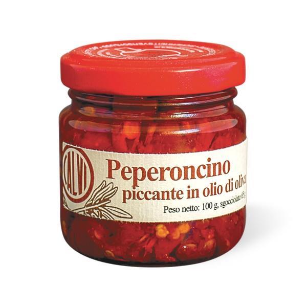 Calvi Peperoncino Piccante in Olio d'Oliva 100 g