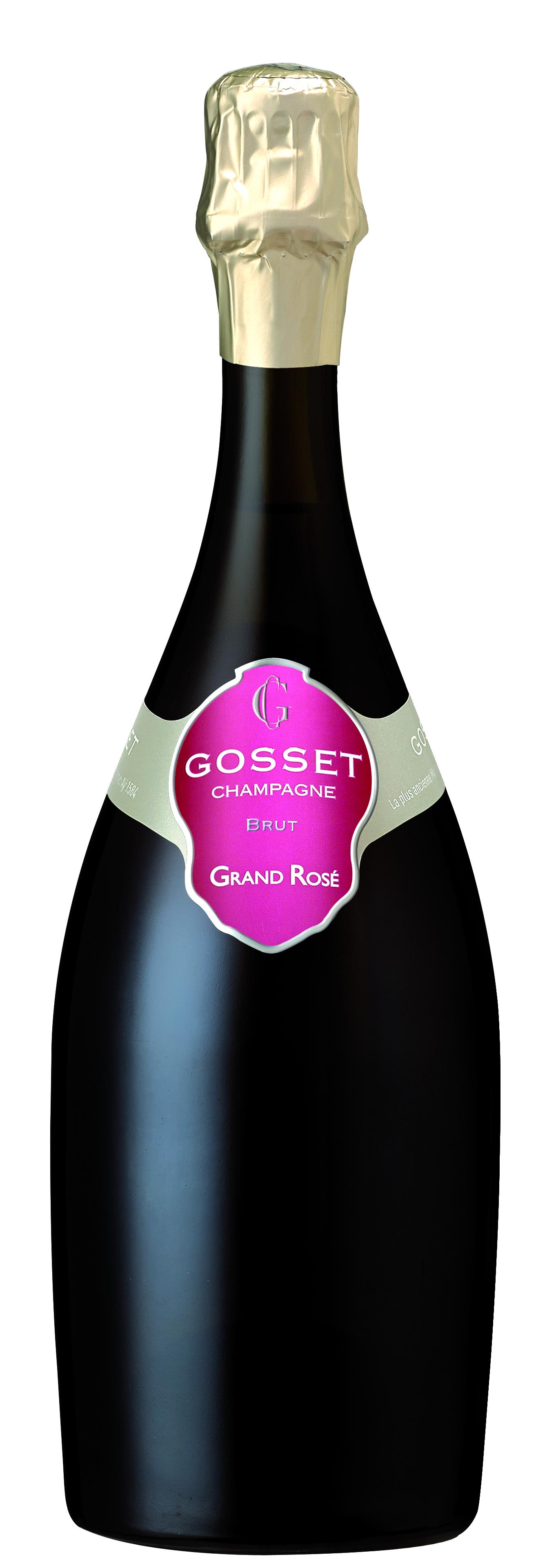 Champagner Gosset Brut Grand Rosé