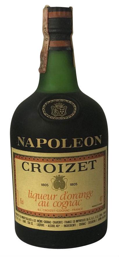 Croizet Napoleon Liqueur d´Orange au Cognac - 1970er