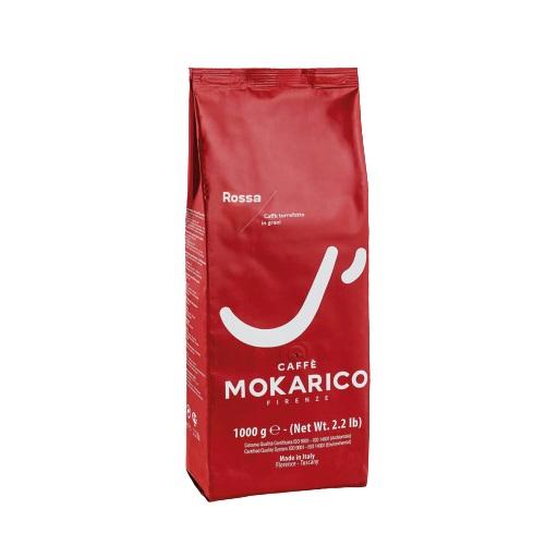 Espresso Mokarico Rossa 1 kg ganze Bohnen