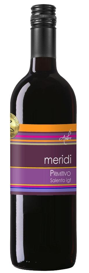 2018 Meridi - Primitivo Salento IGT 1,0l