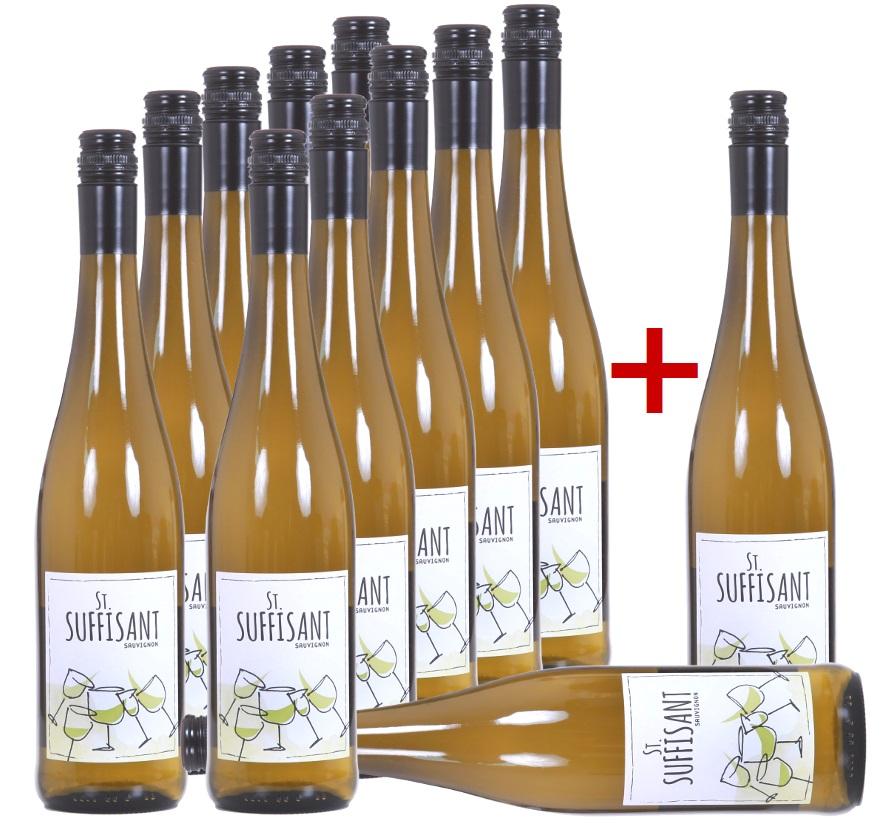 """2019 Sauvignon Blanc """"St. Suffisant"""" im Vorteilspaket"""
