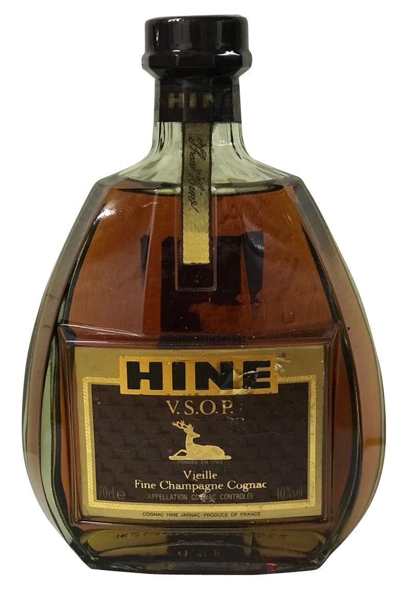 Hine Cognac V.S.O.P. Vieille Fine Champagne Cognac - 1980er