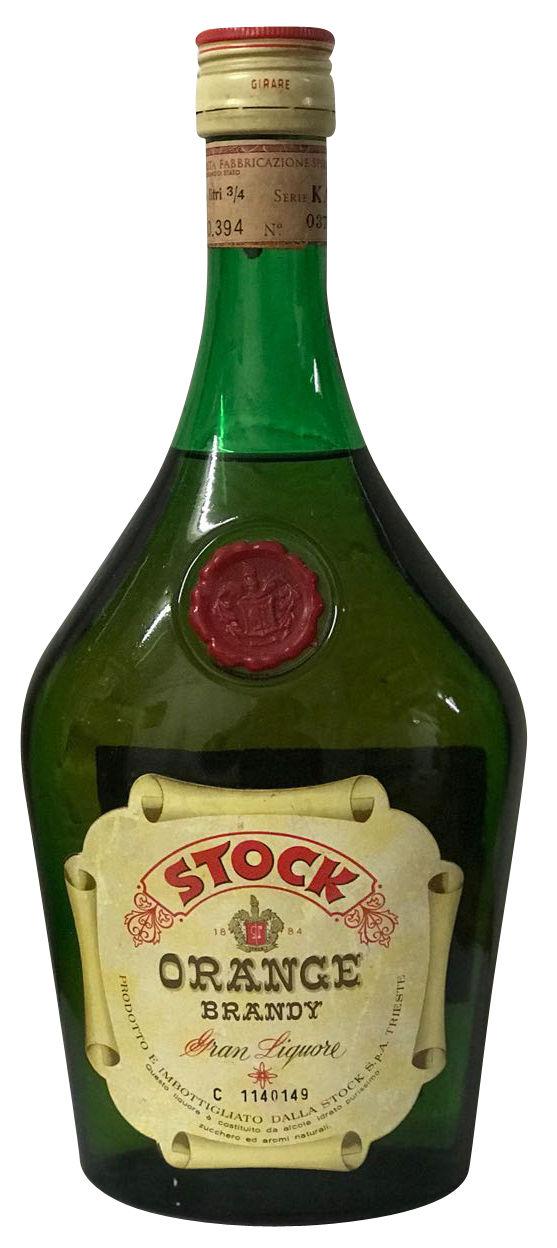 Stock Orange Brandy Gran Liquore - 1970er