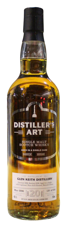 Distiller´s Art Glen Keith Single Malt Scotch Whisky 20 y.o. - 1996er