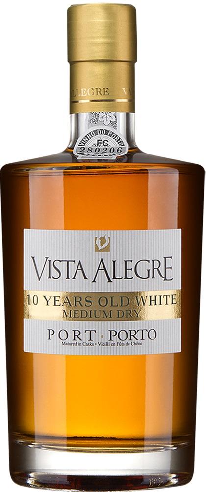Vista Alegre 10 Year Old White Medium Dry Porto