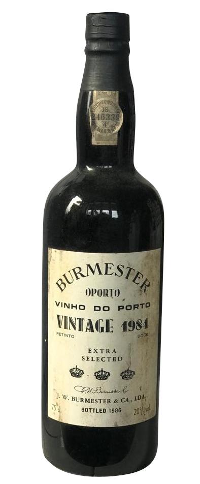 1984 Burmester Vintage Port Extra Selected