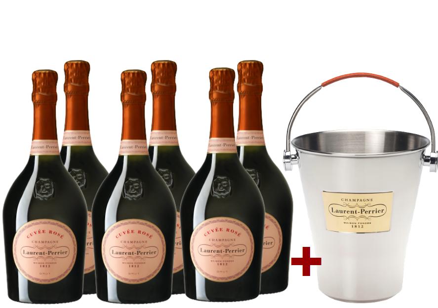 Brut Cuvée Champagne Rosé N.V. im Vorteilspaket