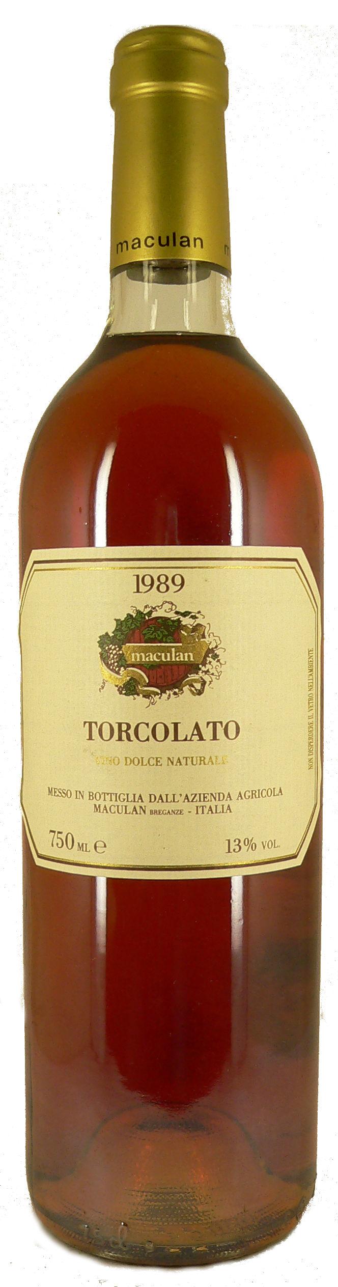 1989 Torcolato dolce