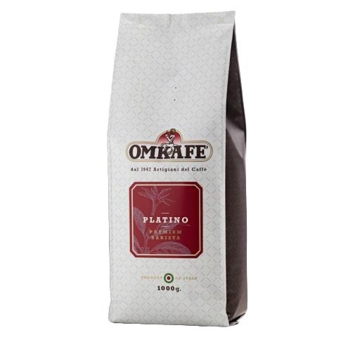 Espresso Omkafè Platino 1 kg ganze Bohnen