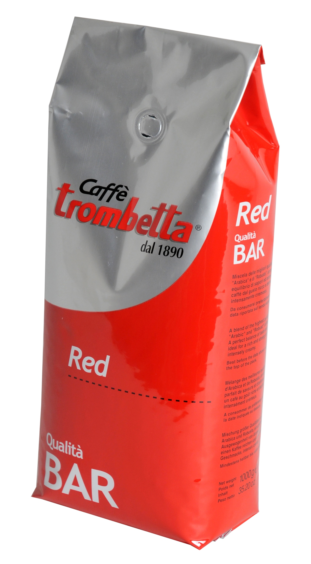 """Trombetta """"Red Bar"""" 1 kg Espressobohnen"""