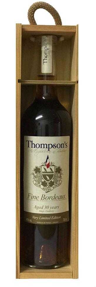Thompson's 30 Year Old Fine Bordeaux Brandy